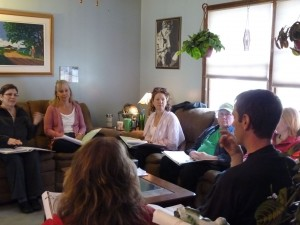One of our small-group EFT trainings