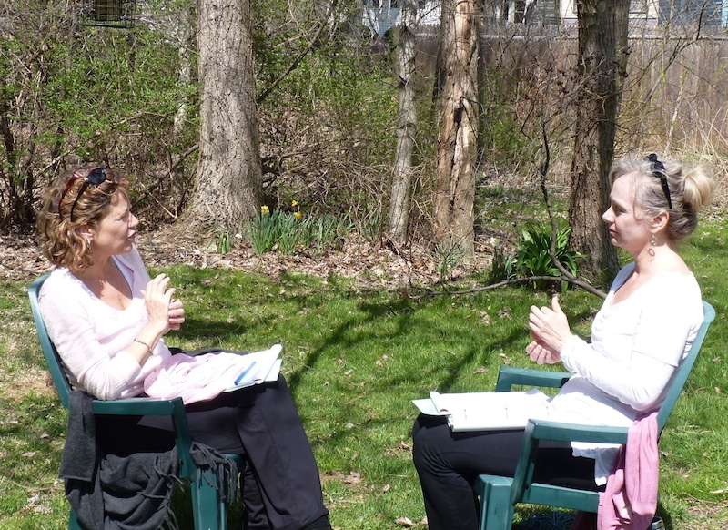 Weather permitting, we may take our EFT training sessions out of doors.