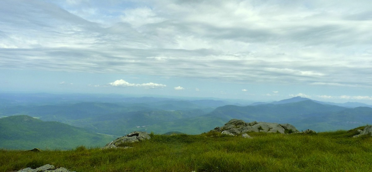 Vermont's Green Mountains from Camel's Hump Peak